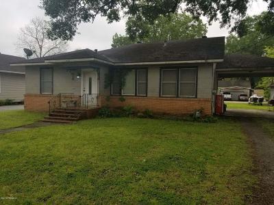 Jennings Single Family Home For Sale: 527 Davis Street