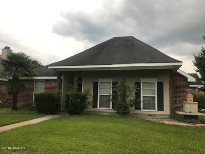 broussard Single Family Home For Sale: 100 Pear Tree Circle