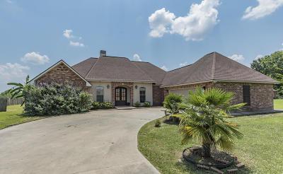 St Martinville, Breaux Bridge, Opelousas Single Family Home For Sale: 137 Braeden Boulevard