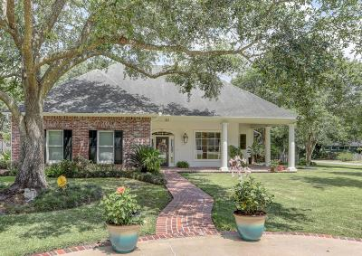 Lafayette  Single Family Home For Sale: 323 Bacque Crescent Drive