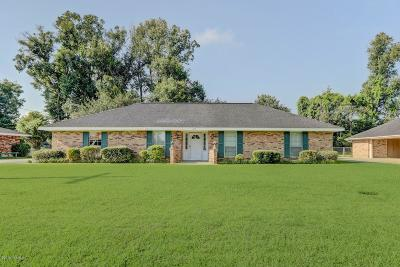 Carencro Single Family Home For Sale: 235 Saint Pierre Boulevard