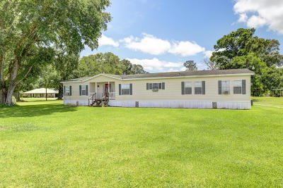 Jeanerette Single Family Home For Sale: 11159 Hwy 87
