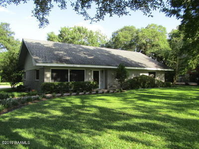 Carencro Single Family Home For Sale: 5124 N University Avenue