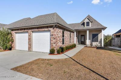Lafayette Single Family Home For Sale: 306 Miramar Boulevard