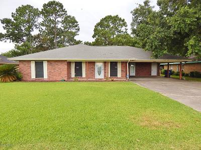 Crowley Single Family Home For Sale: 1225 Crowley Rayne Hwy