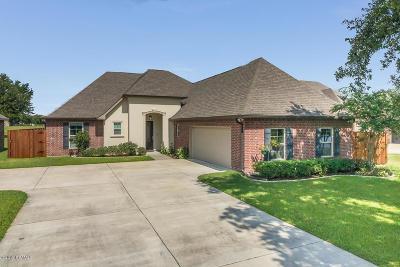 Broussard Single Family Home For Sale: 102 Terrace Oak Lane