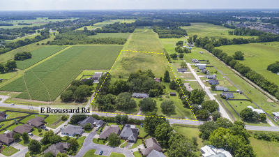 Lafayette Residential Lots & Land For Sale: 1626 E Broussard Road