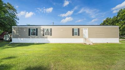 Breaux Bridge Single Family Home For Sale: 1011 Dean Leblanc Road