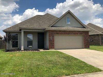 Broussard Rental For Rent: 115 Cypress Sunset Drive