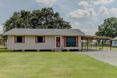 Jeanerette Single Family Home For Sale: 20363 Hwy 182
