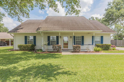 Youngsville Single Family Home For Sale: 722 Almonaster Road