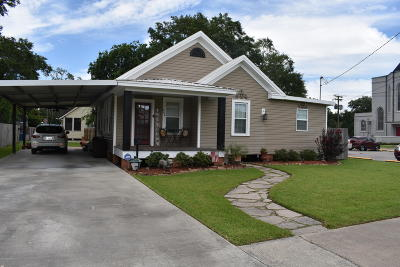 Jennings Single Family Home For Sale: 806 State