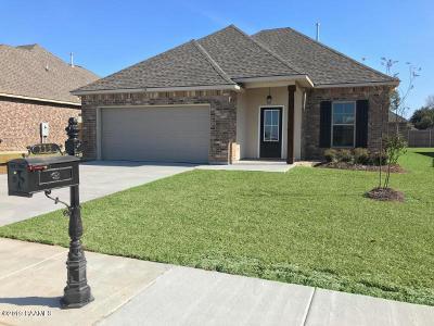 Broussard Single Family Home For Sale: 115 Chloe Street