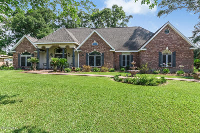 Opelousas Single Family Home For Sale: 307 Rolling Oaks Drive