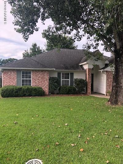 Carencro Rental For Rent: 319 Herlil Circle