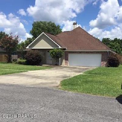 Breaux Bridge Single Family Home For Sale: 825 Belle Drive