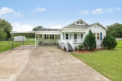 Arnaudville Single Family Home For Sale: 1547 Bayou Fuselier Road