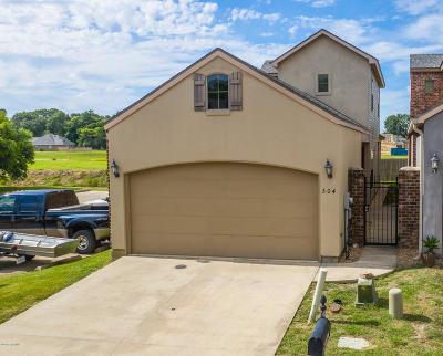 Lafayette  Single Family Home For Sale: 304 Chimney Rock Boulevard