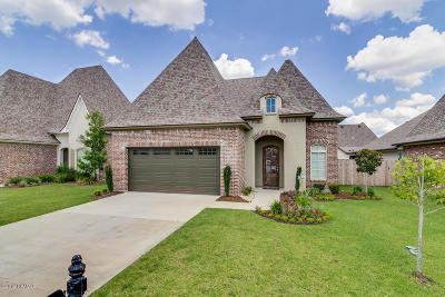 broussard Single Family Home For Sale: 110 Cane Creek Drive