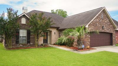 Carencro  Single Family Home For Sale: 105 Nestling Cove