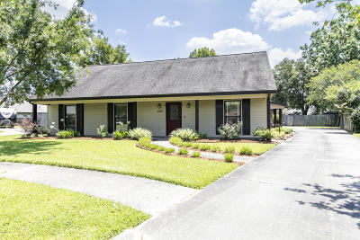Single Family Home For Sale: 106 Jeff Davis Drive