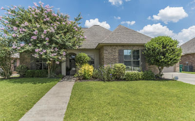 Lafayette Parish Single Family Home For Sale: 123 Bentwater Drive
