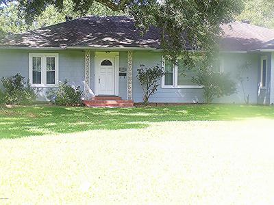 Jeanerette Single Family Home For Sale: 3021 W Main Street
