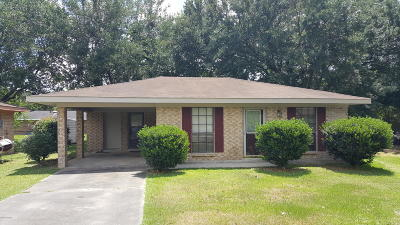 Carencro Rental For Rent: 303 Bloomfield Drive