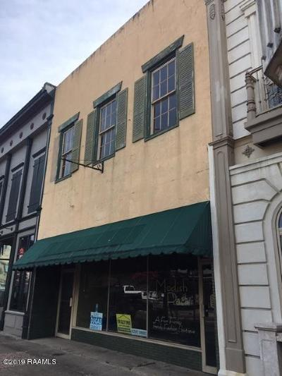 Iberia Parish Commercial For Sale: 105 E Main Street