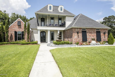 New Iberia Single Family Home For Sale: 702 Woodcock Lane