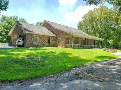 Eunice Single Family Home For Sale: 3461 Perchville Road
