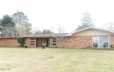 Opelousas Single Family Home For Sale: 116 E Andrus Avenue