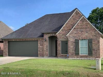 Scott Single Family Home For Sale: 113 Regal Oaks Drive