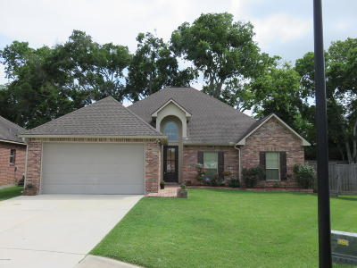 Carencro Single Family Home For Sale: 219 Arsenal Drive