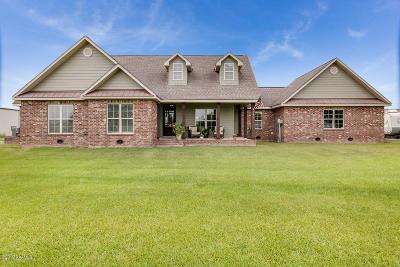 Vermilion Parish Single Family Home For Sale: 10808 Oak Grove Pvt. Drive