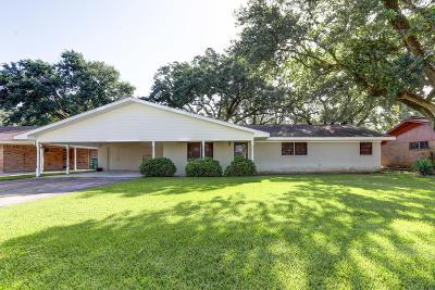 Morgan City Single Family Home For Sale: 2616 Hemlock Street