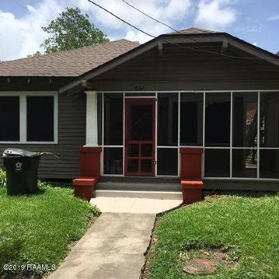 Single Family Home For Sale: 802 S Iberia St