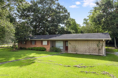 Abbeville Single Family Home For Sale: 1501 Sylvester Street