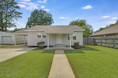 Broussard Single Family Home For Sale: 206 S. St. Jean Street