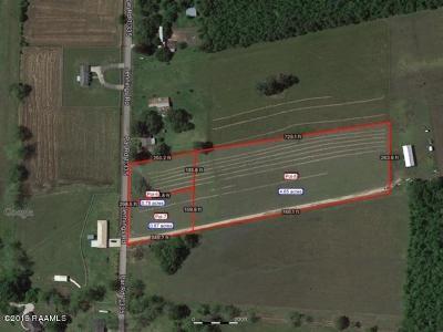Opelousas Farm For Sale: Lot 3 Jennings Road