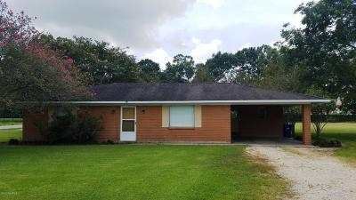 Duson Single Family Home For Sale: 601 Duhon Road