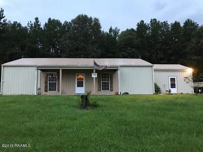 Basile Single Family Home For Sale: 320 Riviere Loop