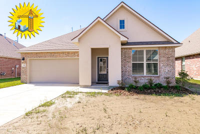 Youngsville Single Family Home For Sale: 206 Voiliere Drive
