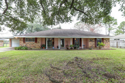 New Iberia Single Family Home For Sale: 108 Estate Drive