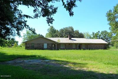 Abbeville Single Family Home For Sale: 10225 La Hwy 82