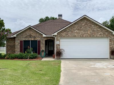 Breaux Bridge Single Family Home For Sale: 1009 Gleaux Drive