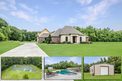 Arnaudville Single Family Home For Sale: 1061 McVeigh Road