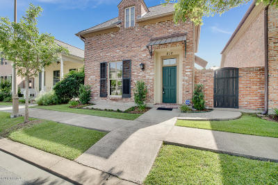 Lafayette Single Family Home For Sale: 210 Elysian Fields Drive