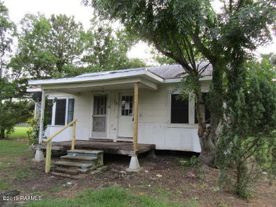 Arnaudville Single Family Home Active/Contingent: 213 Seven Arpents Road
