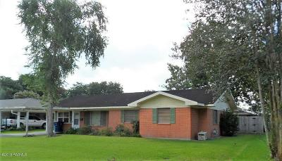 Crowley Single Family Home For Sale: 1026 Riceland Drive